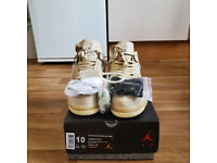 Nike Air Jordan 4 x Off-White Sail UK 9 - EU 44