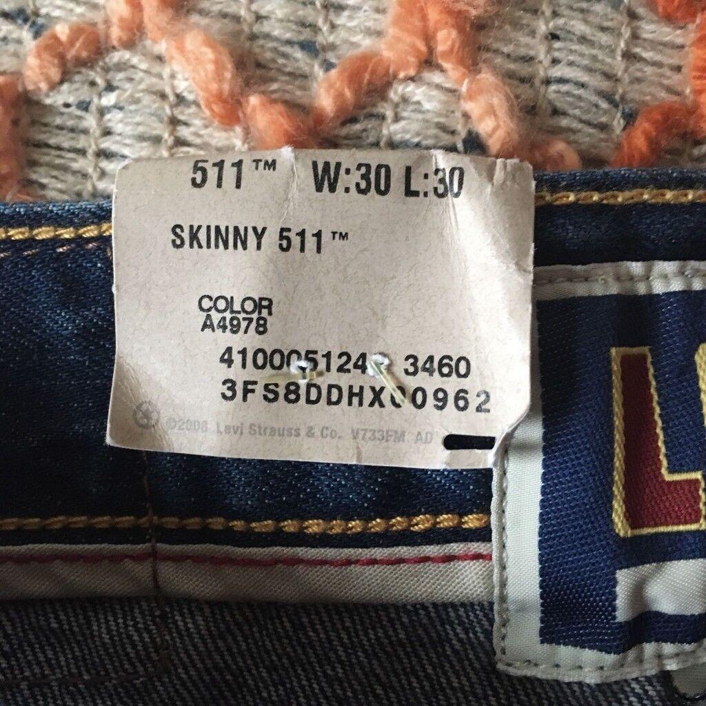 London Skinny Jeans Levi In Stoke Trousers Unworn Newington xwxzqTRn
