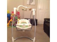 Graco baby swing, immaculate condition! Unisex pattern