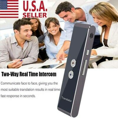 Portable Smart Voice Translator Two-Way Real Time Multi-Language Translation