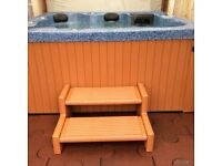 Hot tub in very good condition and in perfect working