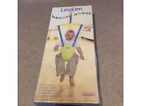 Lindam bounce about door bouncer, as new