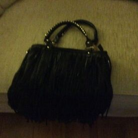 Black Tassel Hand Bag very Attractive ideal Christmas Gift. Was approached in USA to sell