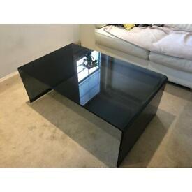 Sovet Bridge Glass Coffee Table - Rectangular
