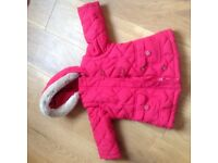 Marks and Spencer 12-18 Months Girls Winter Coat
