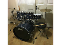 Fully Refurbished Pearl Forum Drum Kit ~Free Local Delivery~