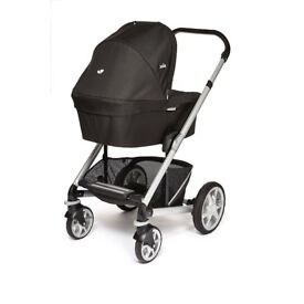 Joie Chrome Plus Carrycot - Black Carbon ***BRAND NEW with TAG- RRP £149.99***