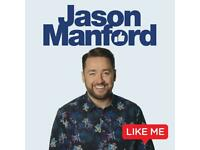 2x Jason Manford Tickets Dudley