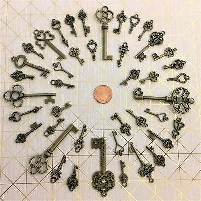 New Ornate Keys Supply House Gate Church Door Key Crafts Charms Favor Bookmark