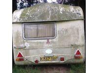 12ft caravan suitable for George Clark amazing spaces project.