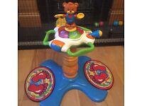 VTech sit to stand dancing tower hardly used
