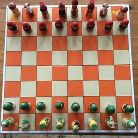 Chess set.