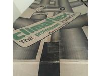 Climaflex professional pipe insulation New Surplus to requirements. 22 bore