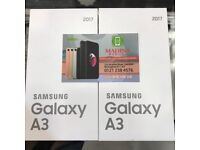 SAMSUNG GALAXY A3 2017 BRAND NEW UNLOCKED COMES WITH SAMSUNG WARRANTY AND RECIEPT