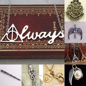 Costume Jewellery WHOLESALE BULK JOBLOT Harry Potter Lord of the Rings Supernatural Hunger Games