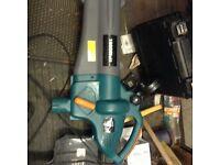 Power base leaf blower