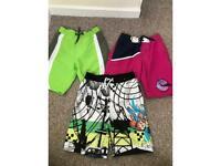 Boys swim shorts age 4-5 years