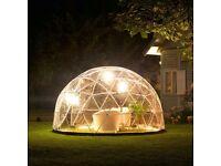 Garden Igloo Gazebo Green House 360 Geodesic Dome And PVC Weatherproof Cover