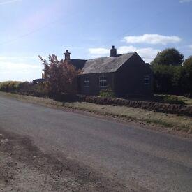 Large detached 3 bedroom cottage to rent