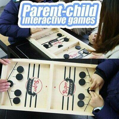 Mini Air Hockey Table Desktop Battle 2 In 1 Ice Hockey Game Children Kids Toy Desktop Air Hockey