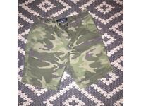 Age 2-3 Next army camo shorts
