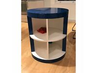 MADE Moritz Royal Blue Wooden Media Unit