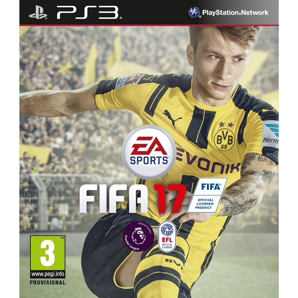 Fifa 17 PS3 game