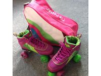 Rio Rollers Roller Skates Size 5 - Carry bag and pads - Excellent condition