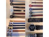 3 FOR £60 Ferragamo Armani D&G Designer belts London cheap northwest harrow ealing hendon hackney