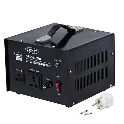 New 110V to 220V STEP Up Only VOLTAGE CONVERTER 1000W Watt TRANSFORMER TRAVEL