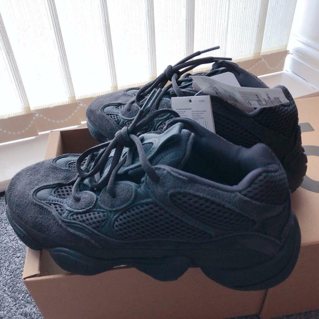 7fee202f85 Adidas Yeezy 500 Utility Black Size 6.5. London £220.00