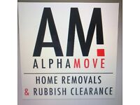 Man&van, removals, home moves, garden waste & rubish clearance, store pick up & drop off, alphamove