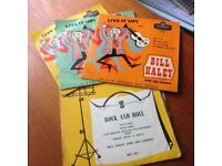 Bill Haley 45rpm Vinyl Extended Play