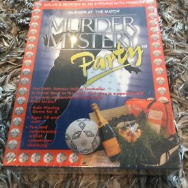 Murder mystery party game(murder at the match)