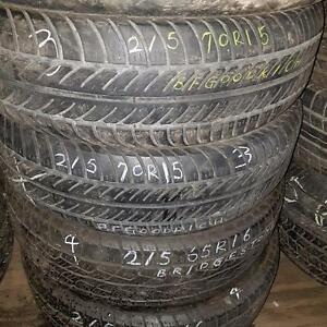 Two 215 65 16 tires for sale