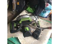 Chop saw used £20 in halstead co9 NOT BARKING
