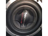 2 pioneer champion pro sub 3000 watts Pioneer GM-D8601 Champion Class D 1600 Watts Mono Block