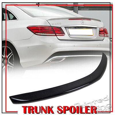 Stock in LA CARBON For Mercedes BENZ E-class C207 Coupe A-Type Trunk spoiler