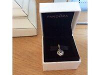 Pandora love knot pendant
