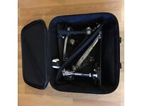 Pearl Eliminator double Pedal with case for sale