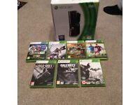 Xbox 360 250gb fully boxed plus 7 games excellent condition