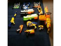 Nerf foam dart gun bundle