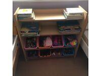 Toy storage / book shelf kids
