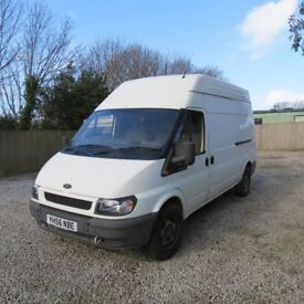 Transit high top long wheelbase transit van good condtiion low millage for the year