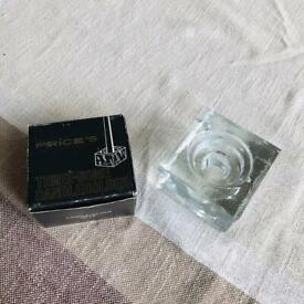 Price's Glass Candle Holder