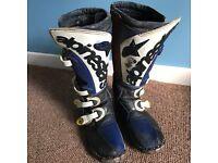 Alpinestars tech 5 motocross boots size 7