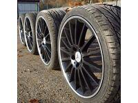 Mercedes AMG C63 19'' Alloy Wheels