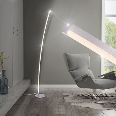 vidaXL LED Stehlampe Stehleuchte Deckenfluter Lese Strahler Bogenlampe Stand 18W