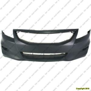 Bumper Front Coupe Primed Honda Accord 2011-2012