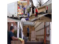 UK/ EU Urgent House Removal Office Furniture Moving Services Waste Collection Man & Luton Van Hire